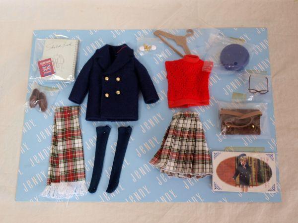 当時物タカラ1992年ジェニー プライベートコレクション デラックス 1/6ドール/人形/お洋服/小物セット/アウトフィット/momoko/ファイセン他_画像3