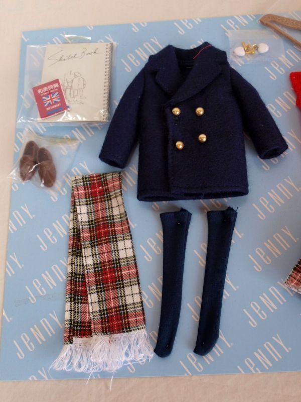 当時物タカラ1992年ジェニー プライベートコレクション デラックス 1/6ドール/人形/お洋服/小物セット/アウトフィット/momoko/ファイセン他_画像4