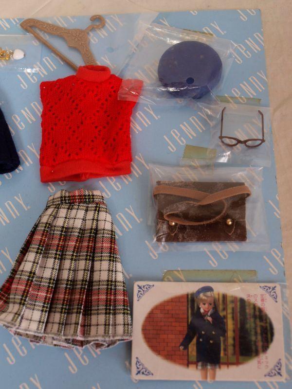 当時物タカラ1992年ジェニー プライベートコレクション デラックス 1/6ドール/人形/お洋服/小物セット/アウトフィット/momoko/ファイセン他_画像5