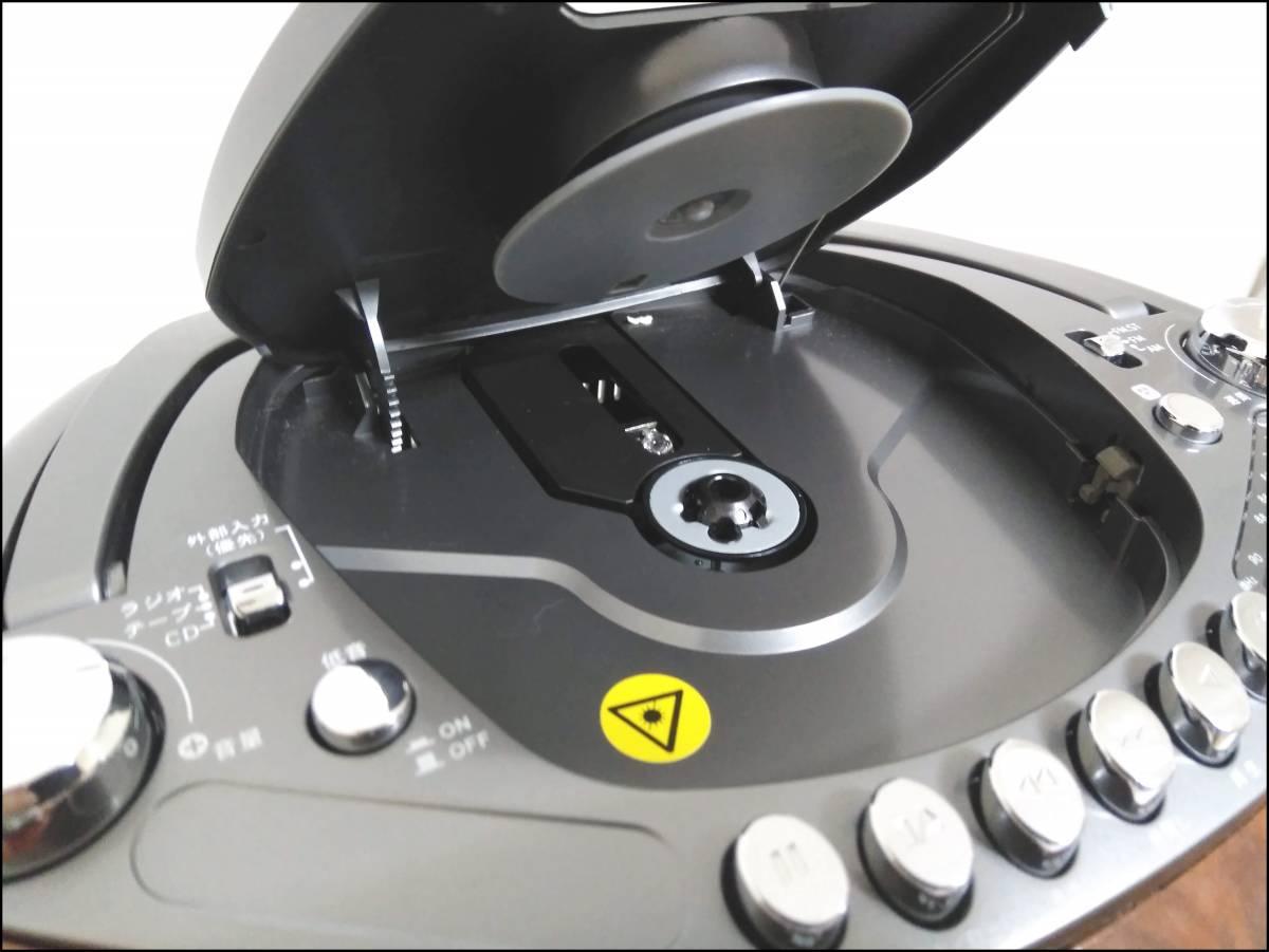 ★PiPO CDラジカセ PIPO-CD01 CD/ラジオ/カセット 2012年制 CD・カセット動作確認済み★0_画像6