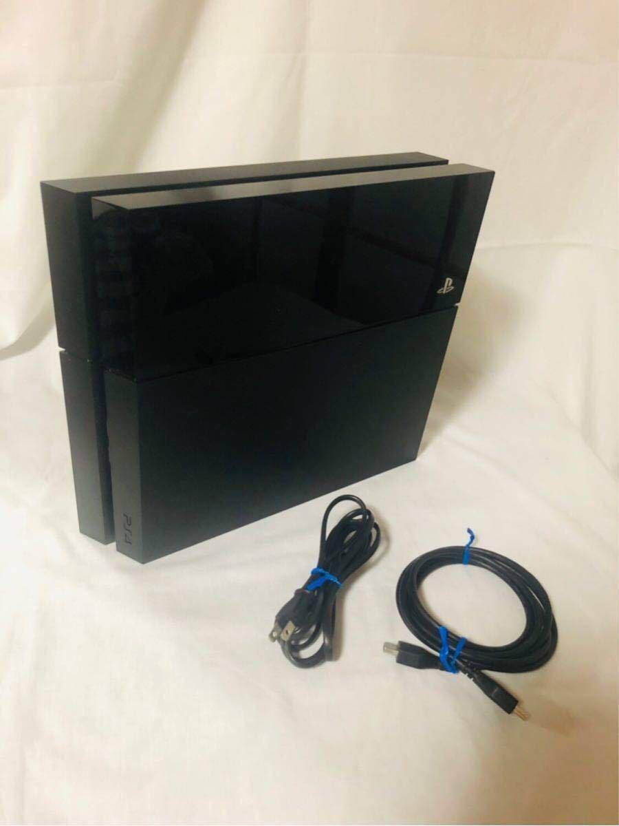 動作良好 FW6.73 PS4 本体 CUH 1000 a HDD 500GB プレステ4 ジェットブラック プレイステーション4 PS4本体 SONY ソニー CUH-1000 黒