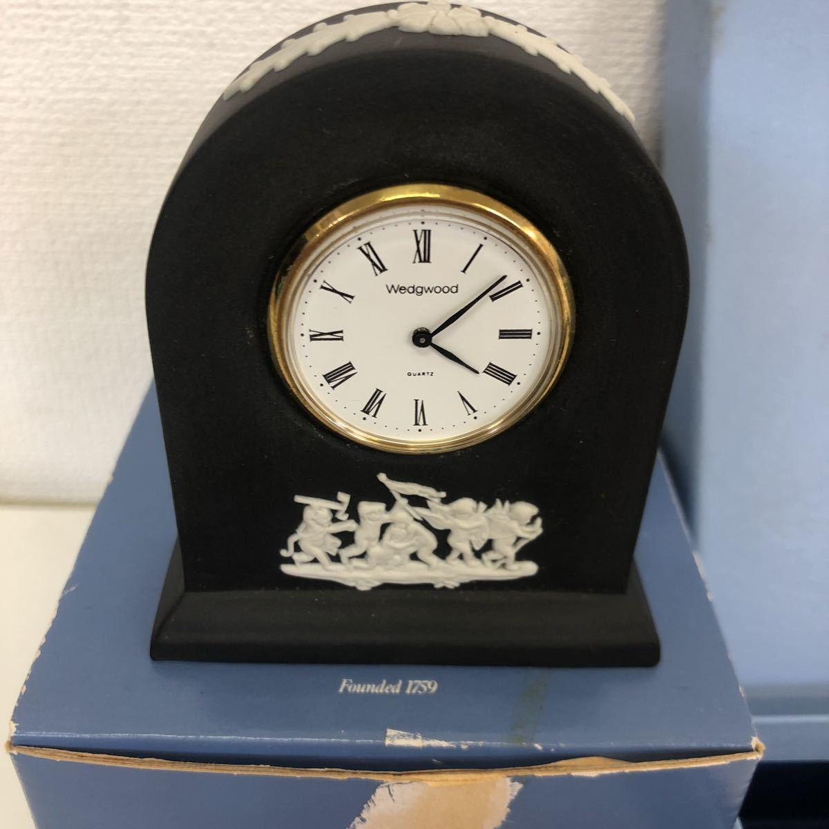【未使用品】WEDGWOOD ウェッジウッド(置時計/プレート/ソープ)_画像2