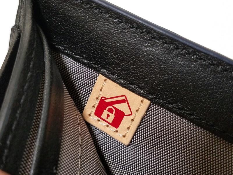 1円~本物新品TUMI トゥミ サフィアーノレザーダブル札入れコインウォレット財布 ID LOCK機能搭載_画像5
