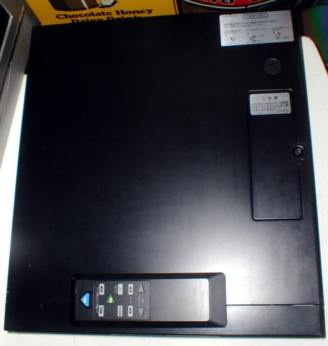 Victor HD-801BK VIDEO HIGHDENSITY DISC PLAYER VHD 小型 ビデオディスクプレーヤー 綺麗! リモコン付き_画像7