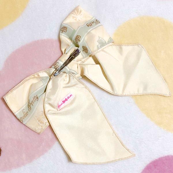 ★*1スタ~!★*【限定品】新品♪*Angelic Pretty*Cream Cookie Collection ワンピース・リボンクリップ Special Set(アイボリー)*