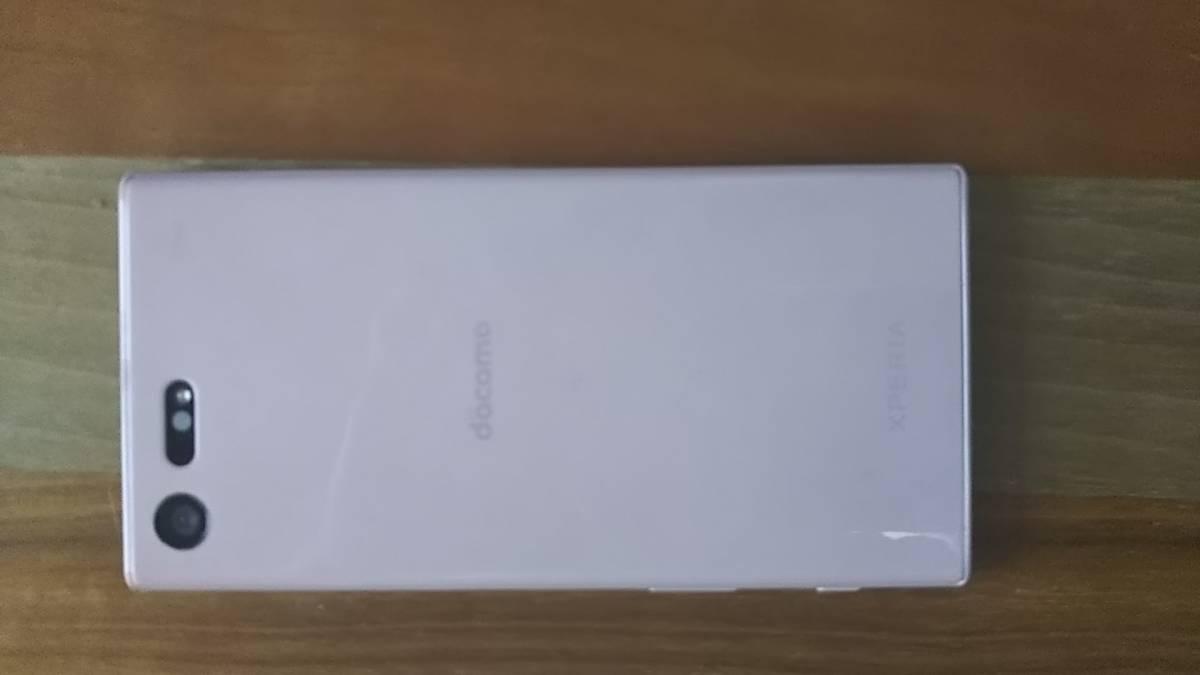 docomo:Xperia XCompact SO-02J (ソフトピンク)美品_画像3