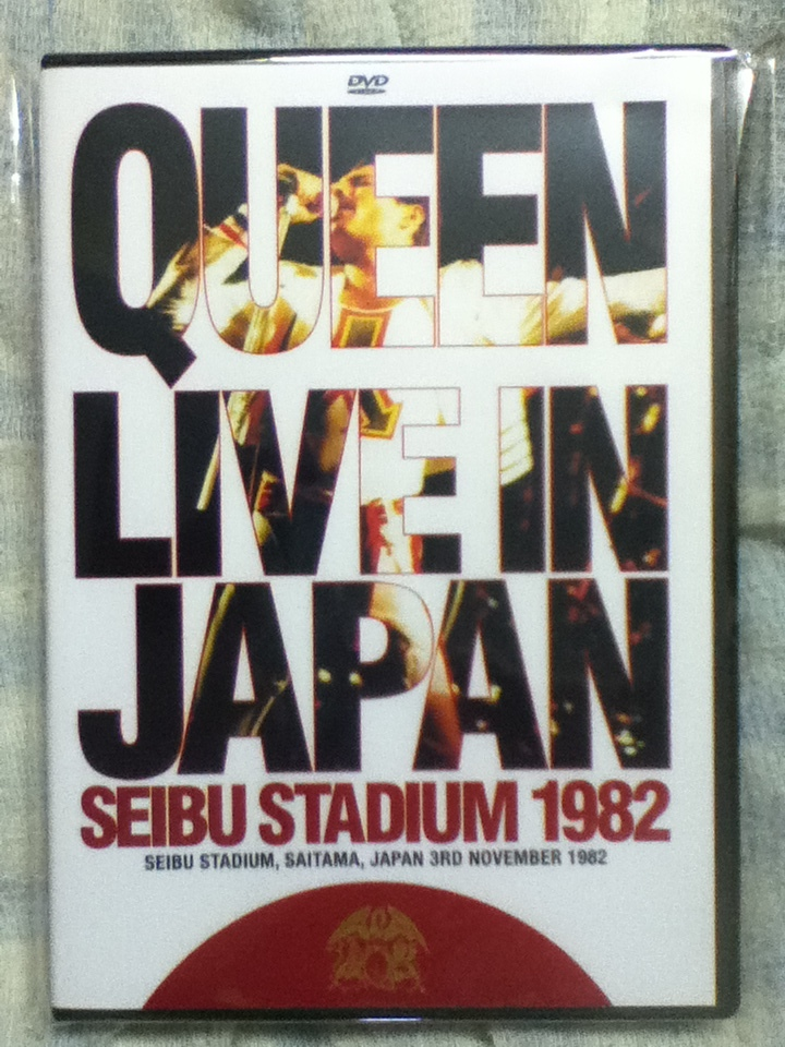 一点限り!クイーン QUEEN Live in Japan 1982 DVD