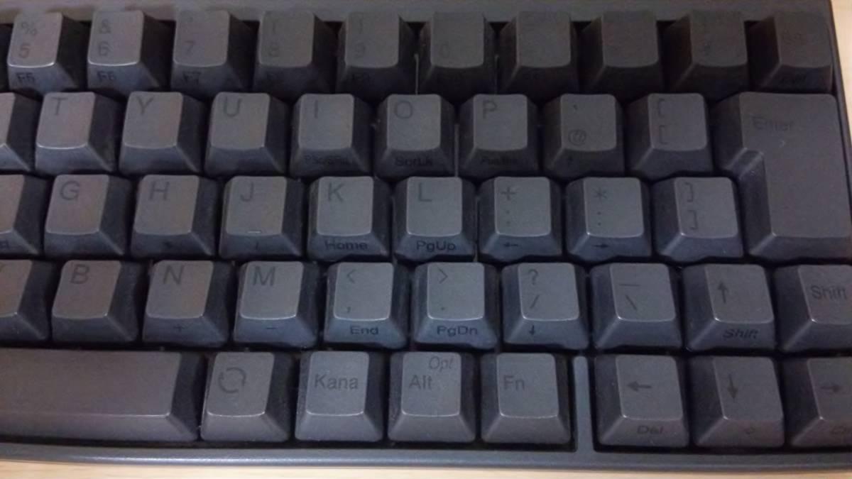 【美品】Happy Hacking Keyboard Professional JP 日本語 黒 キーボード (HHKB Pro JP)_画像3