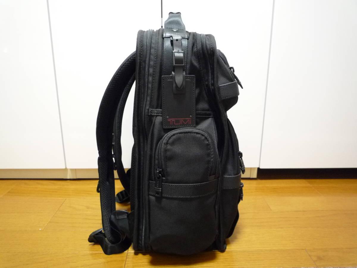★極美品★TUMI ALPHA2 T-Pass ビジネス・クラス・ブリーフパック (26578D2) ブラック★ _画像2