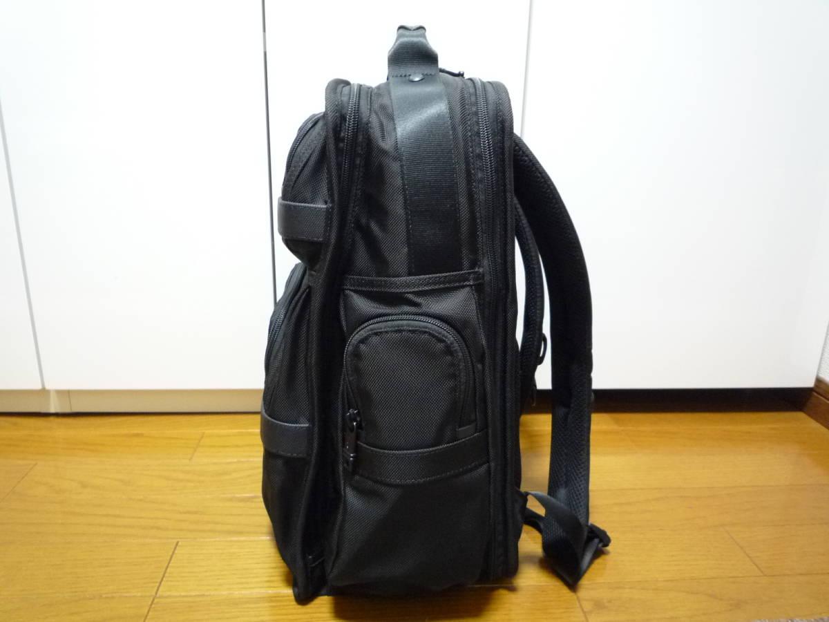 ★極美品★TUMI ALPHA2 T-Pass ビジネス・クラス・ブリーフパック (26578D2) ブラック★ _画像3
