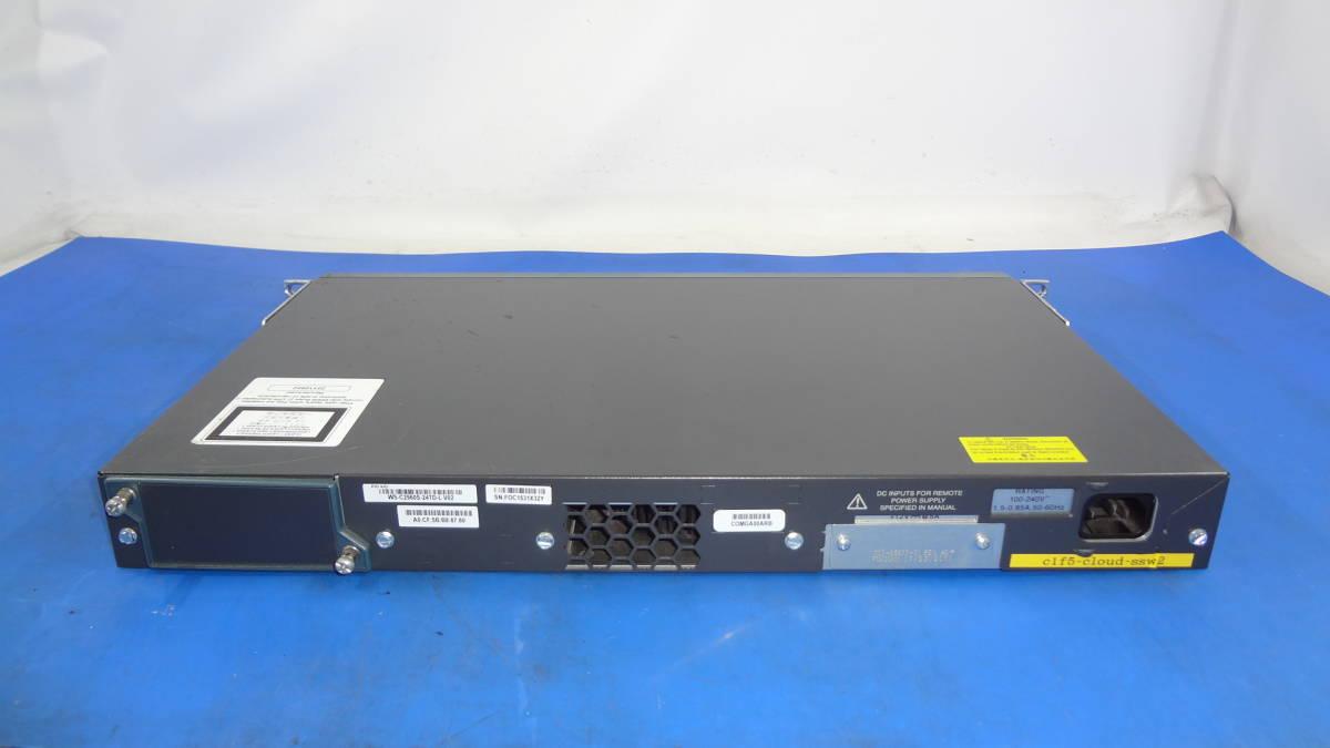 激安1円スタート Ciscoギガビット イーサネット スイッチ Catalyst 2960/WS-C2960S-24TD-L 中古動作品_画像2