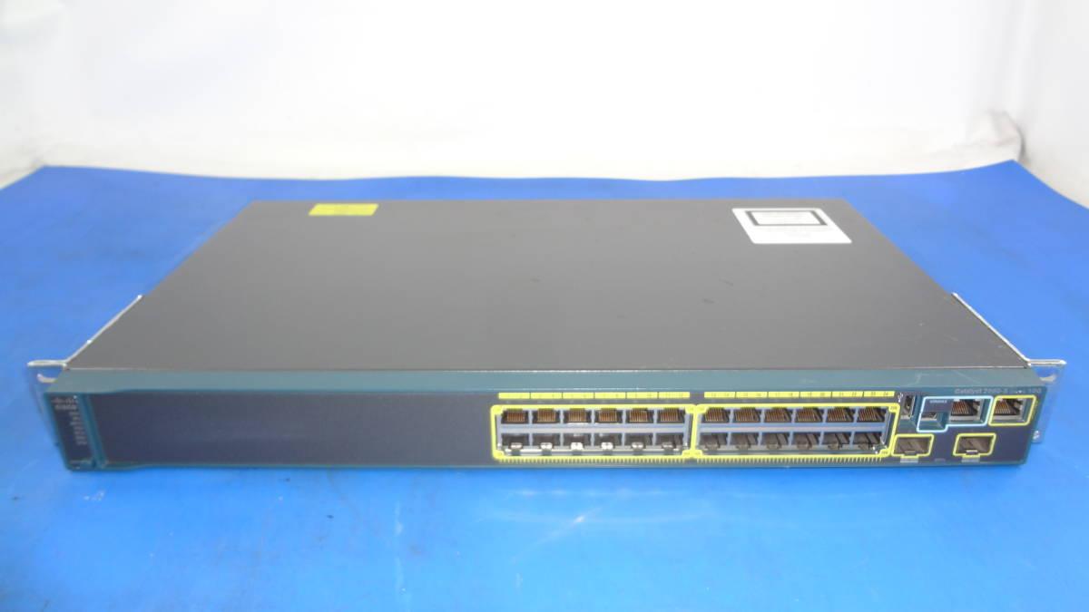激安1円スタート Ciscoギガビット イーサネット スイッチ Catalyst 2960/WS-C2960S-24TD-L 中古動作品