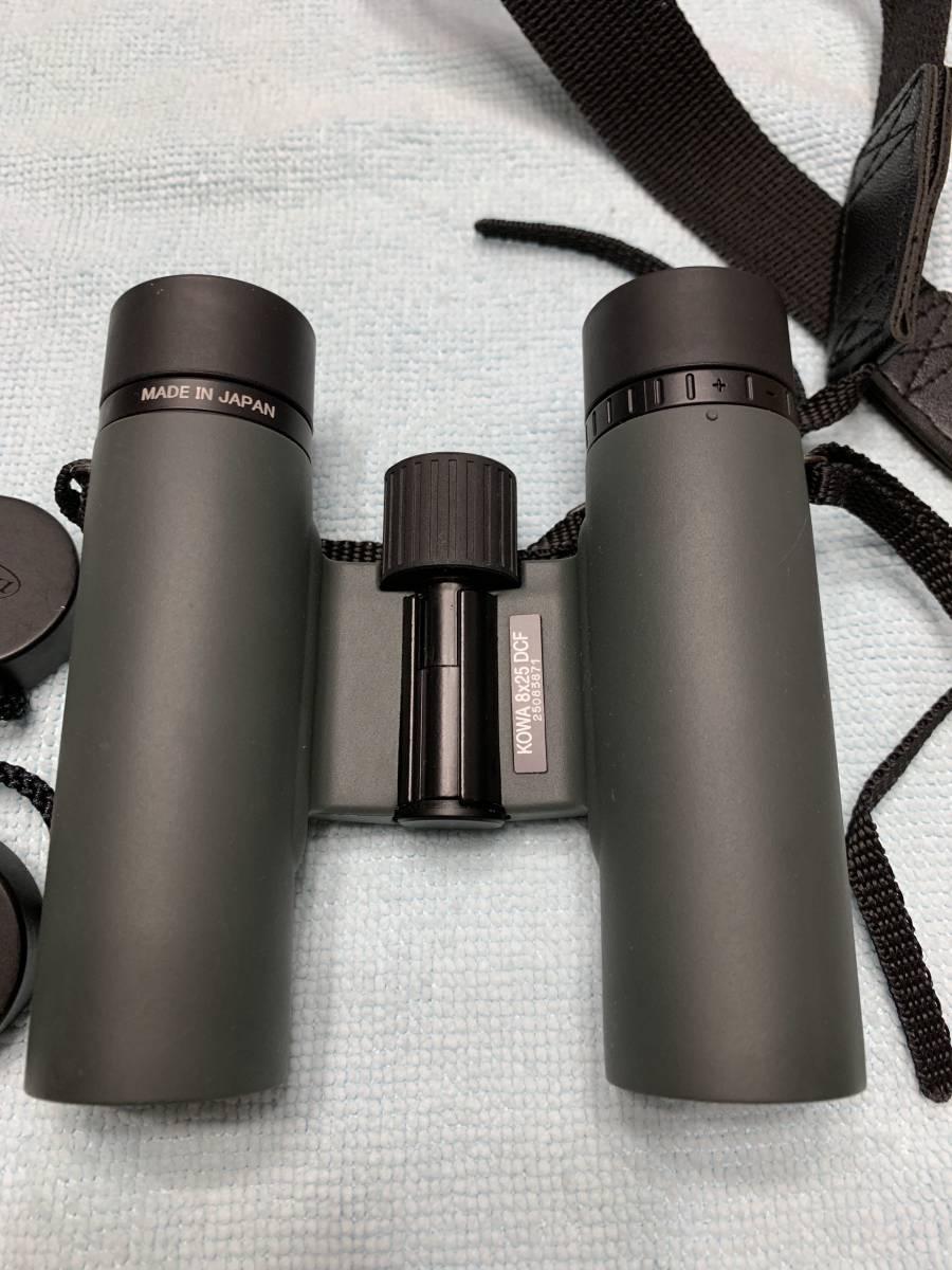 Kowa 双眼鏡 BD25-8GR 中古品 軽量 コンパクト_画像4