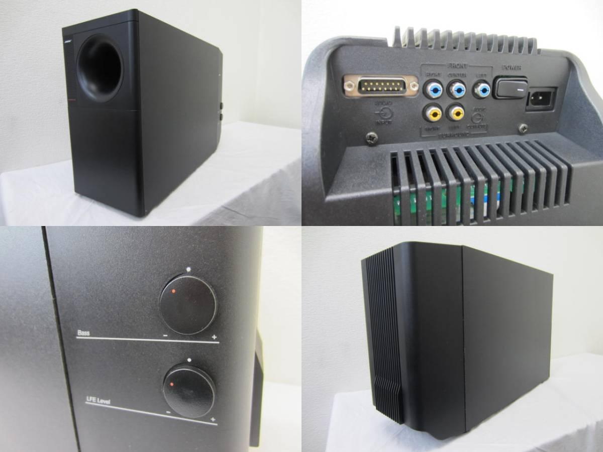 BOSE ボーズ【AM-15】 アンプ内蔵ウーハー付デジタルサウンド オーディオ 5.1チャンネルスピーカーシステム 中古 音出し確認済 _画像3