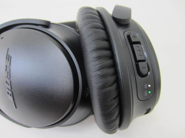 BOSE ボーズ 【QC35】 QuietComfort 35 wireless headphones 中古美品 音出し確認済 外箱あり ワイヤレスヘッドホン_画像4