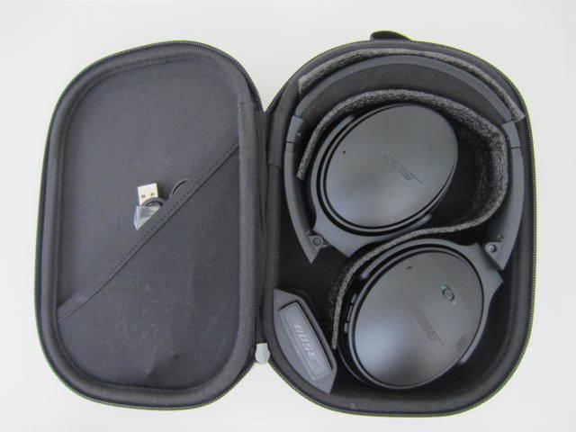 BOSE ボーズ 【QC35】 QuietComfort 35 wireless headphones 中古美品 音出し確認済 外箱あり ワイヤレスヘッドホン_画像7