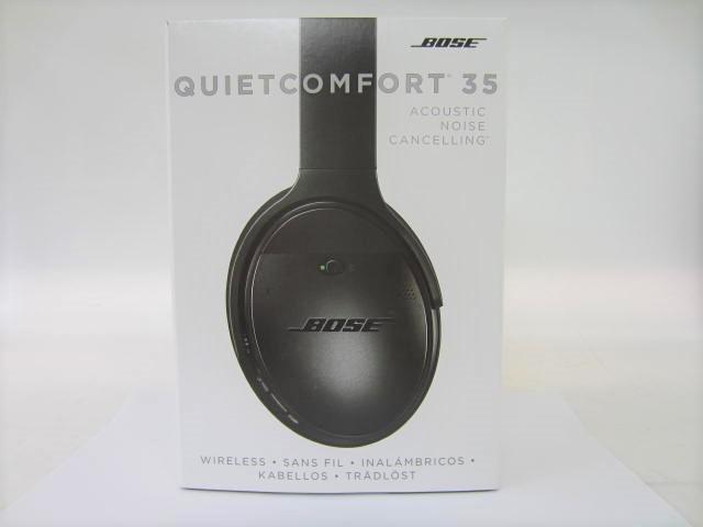 BOSE ボーズ 【QC35】 QuietComfort 35 wireless headphones 中古美品 音出し確認済 外箱あり ワイヤレスヘッドホン
