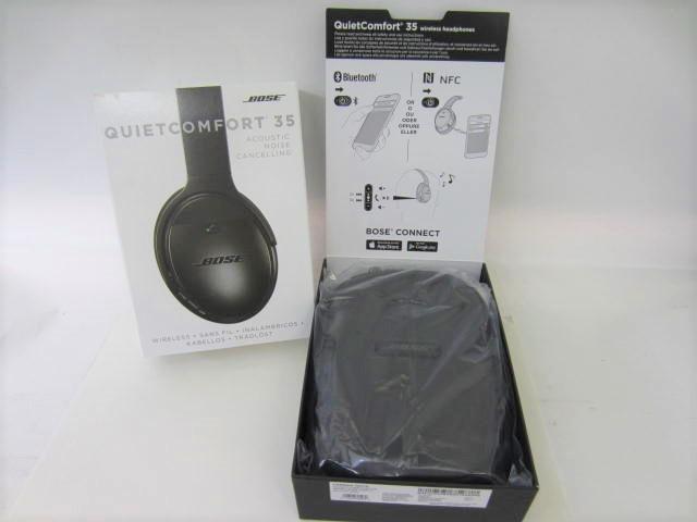 BOSE ボーズ 【QC35】 QuietComfort 35 wireless headphones 中古美品 音出し確認済 外箱あり ワイヤレスヘッドホン_画像6