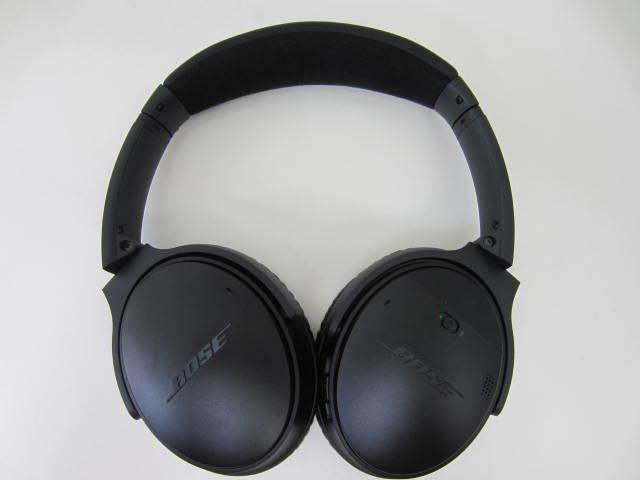 BOSE ボーズ 【QC35】 QuietComfort 35 wireless headphones 中古美品 音出し確認済 外箱あり ワイヤレスヘッドホン_画像2