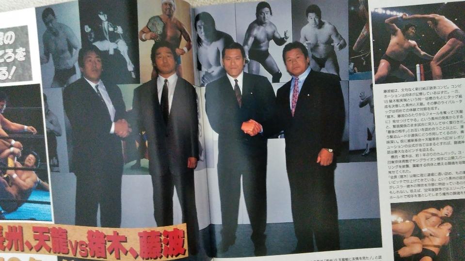 新日本プロレス 1993年5月3日 WRESTLING DONTAKU in 福岡ドーム パンフレット_画像4