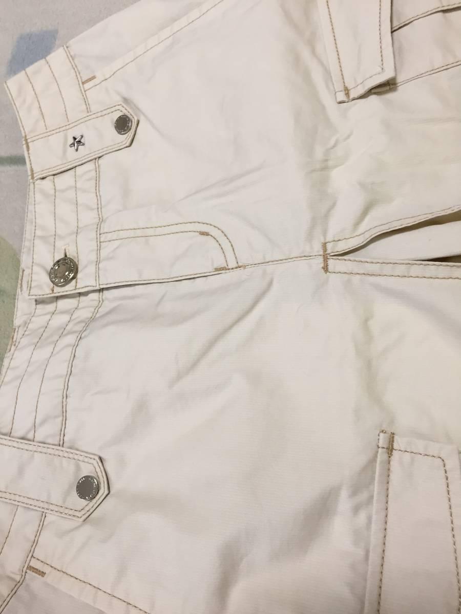 KAPPA ボックスプリーツスカート 夏用ベージュ サイズ7 USED美品_画像7