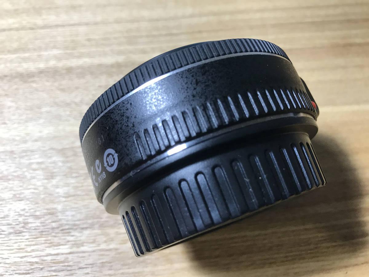 【美品】CANON EF40mm F2.8 STM キヤノン レンズ_画像6