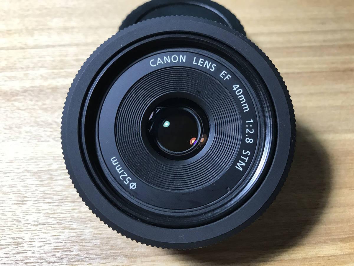 【美品】CANON EF40mm F2.8 STM キヤノン レンズ_画像4