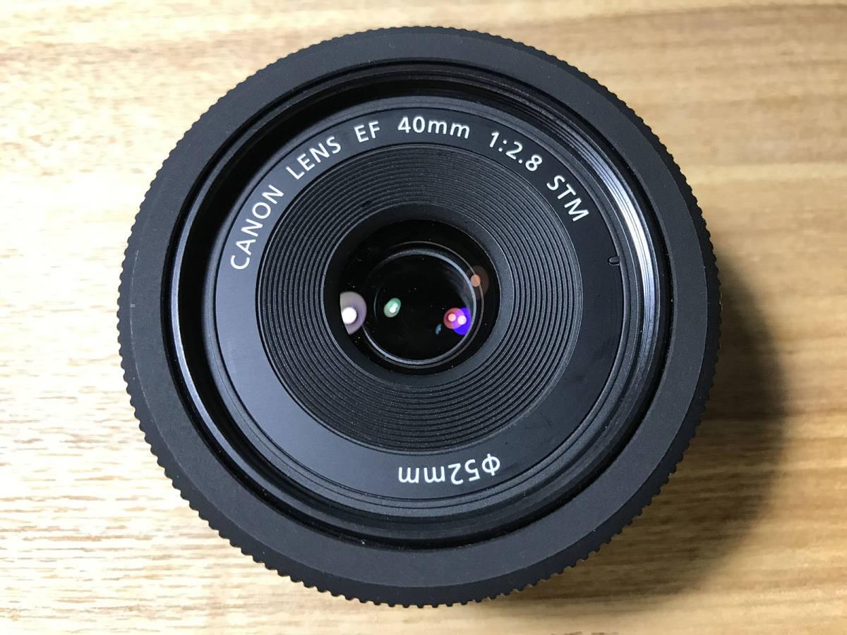 【美品】CANON EF40mm F2.8 STM キヤノン レンズ_画像2