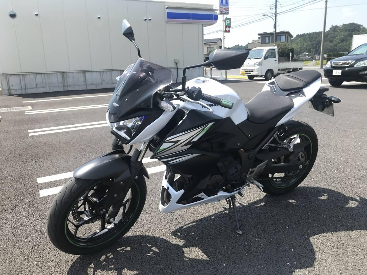 カワサキ Z250 2014年モデル 自賠責令和3年3月まで (ニンジャ ninja)_画像2