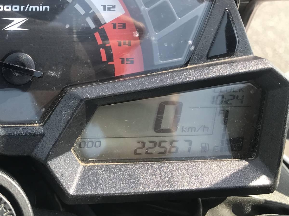 カワサキ Z250 2014年モデル 自賠責令和3年3月まで (ニンジャ ninja)_画像6