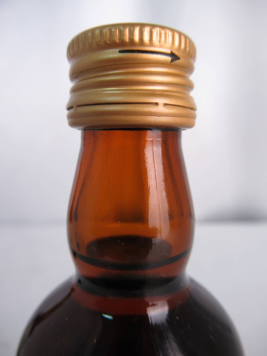 希少 レア Suntory Brandy サントリー ブランデー 試飲用見本 ミニチュアボトル 2本セット XO/XO Deluxe デラックス 50ml×2 40% #D1014l4_画像7