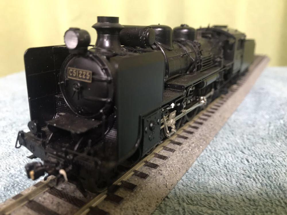天賞堂45周年記念モデル C51 蒸気機関車_画像9