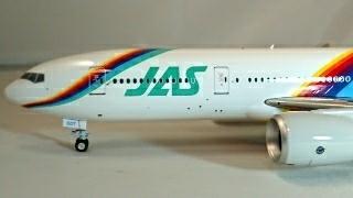JAS JAL レインボー 777-200 1/200 インフライト系金属モデル EAGLE_画像2