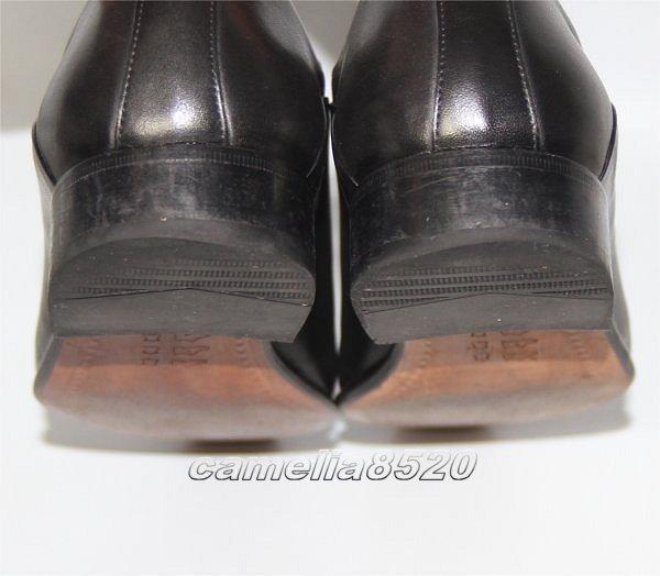 CASTELLI by Joy カステリ プレーントゥ フォーマル / ビジネスシューズ 黒 ブラック レザー 本革 40 サイズ 約24.5cm 美品 使用僅か _画像4