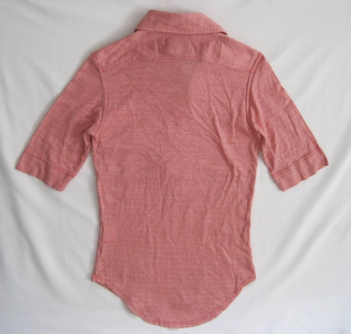 Vivienne Westwood man ヴィヴィアンウエストウッド マン 半袖シャツ S 初期 イタリア製 オリゾンティ_画像7
