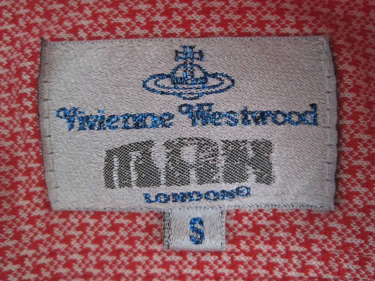 Vivienne Westwood man ヴィヴィアンウエストウッド マン 半袖シャツ S 初期 イタリア製 オリゾンティ_画像3