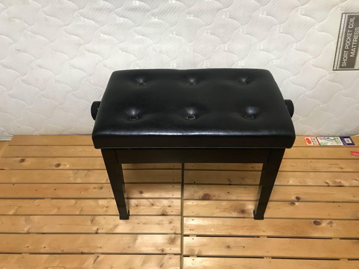 B14 ピアノ椅子 トムソン椅子 YAMAHA カワイ ヤマハ イトー イトウ ピーコック ピアノ椅子 高さ調整付 ピアノチェア いす イス 格安売切_画像6