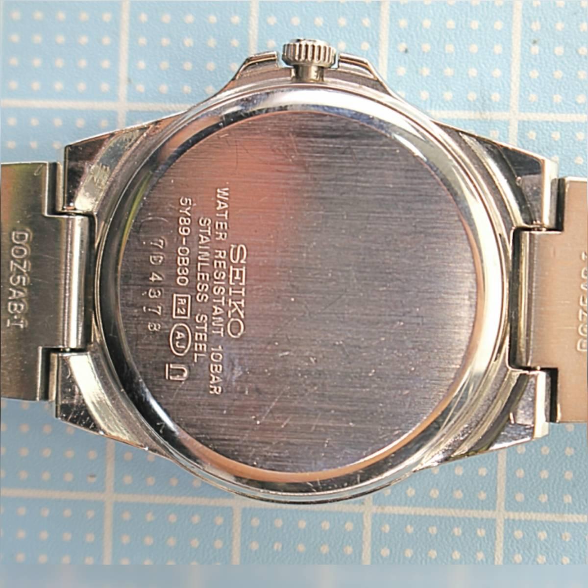 セイコー ルキア レディース 電池交換済み稼働品 H-84_画像8