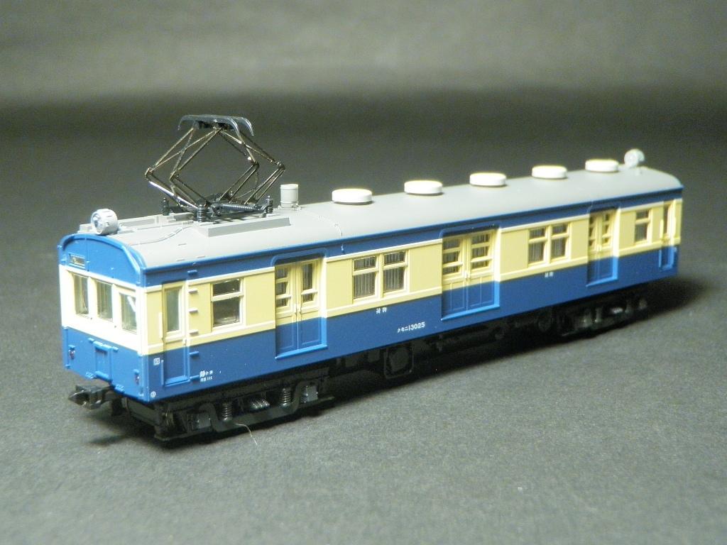 KATO 10-1182 飯田線荷物電車セット より クモニ13