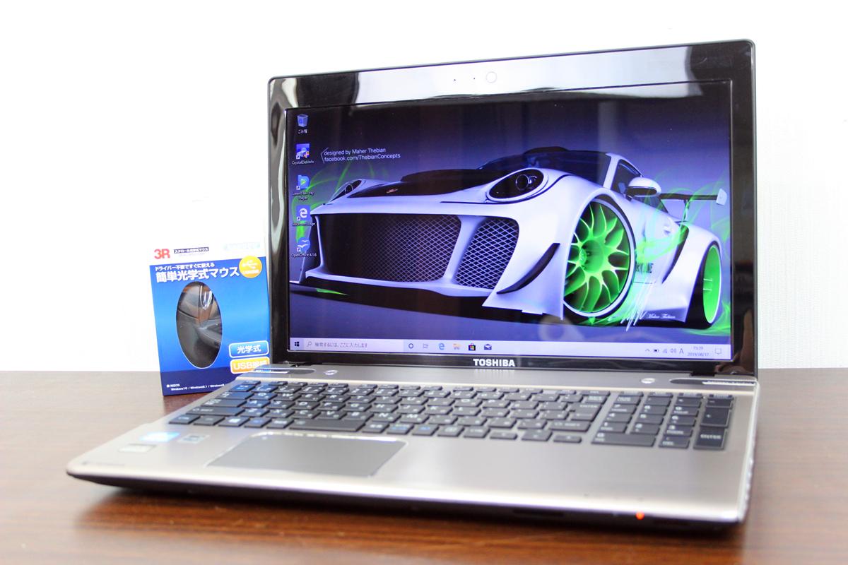 <<上位機種>>爆速★新品SSD512GB/TOSHIBA T652/58★I7 3630QM★8GB/ブルーレイ/最新Windows10/OFFICE/WIFI/USB3.0/送料無料/新品マウス