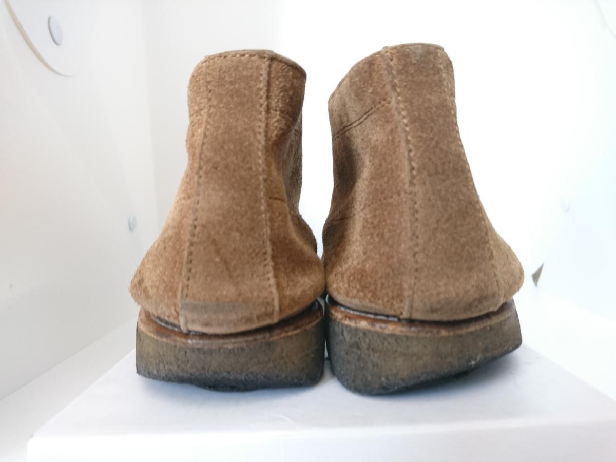 管理221 REGAL 25.5㎝リーガルスエード シューズ デザート ブーツ ブラウンメンズ 革靴 レザー 茶 カジュアル ビジネス_画像4