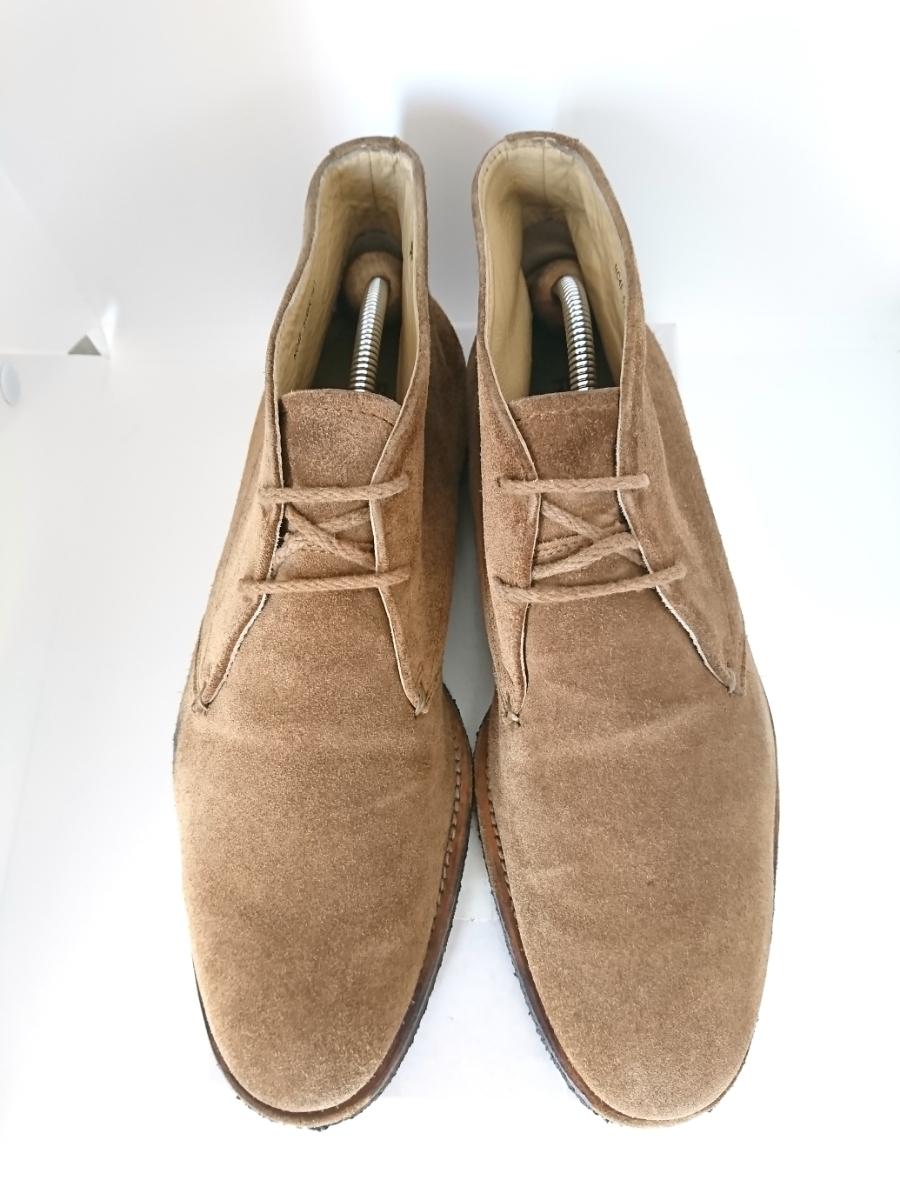 管理221 REGAL 25.5㎝リーガルスエード シューズ デザート ブーツ ブラウンメンズ 革靴 レザー 茶 カジュアル ビジネス_画像2