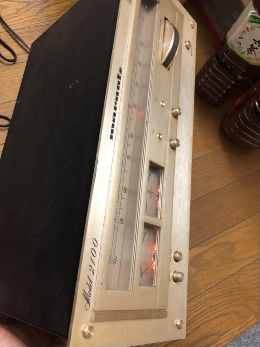 marantz model 2100 AM/FMチューナー動作品(訳あり)_画像2
