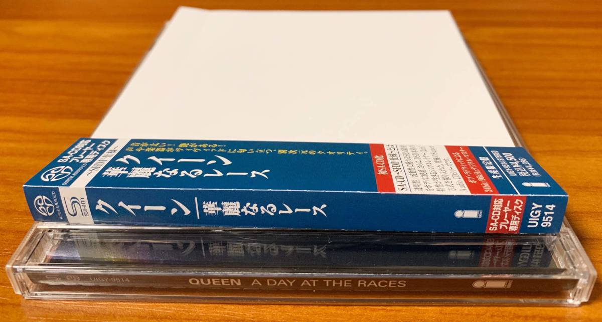 【希少品・廃盤】Queen クイーン 華麗なるレース UIGY-9514 【SACDシングルレイヤー盤】_画像3