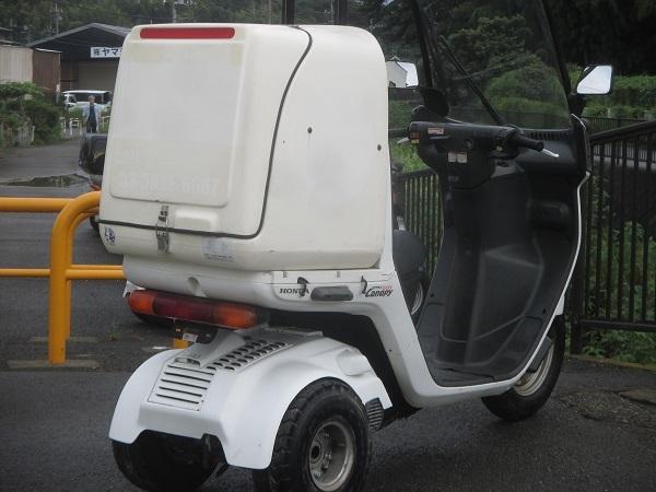 2スト 最終型 TA02-20番台 BOX付き  ジャイロキャノピー ミニカー登録対応可能 ドライブベルト、ウエイトローラー新品交換済_画像4