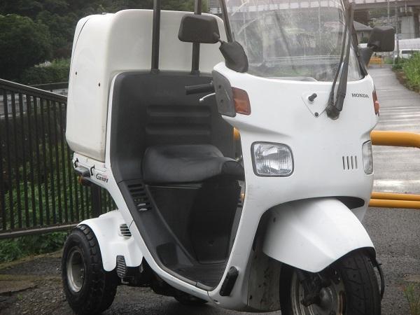 2スト 最終型 TA02-20番台 BOX付き  ジャイロキャノピー ミニカー登録対応可能 ドライブベルト、ウエイトローラー新品交換済_画像6