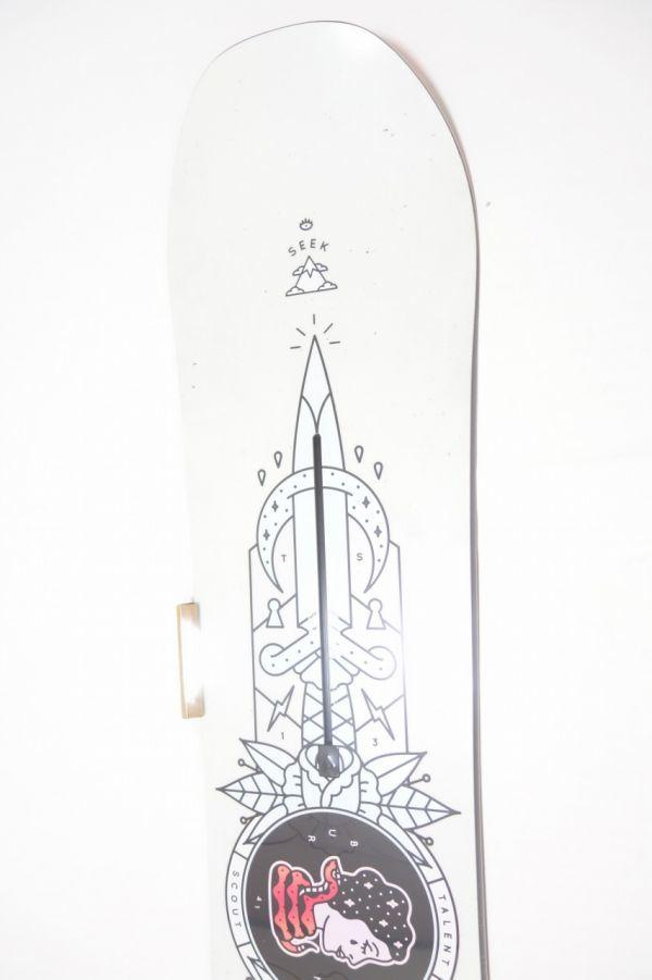 新品未使用 18/19 2019年 BURTON バートン TALENT SCOUT 141cm タレントスカウト スノーボード 板 キャンバー_画像3