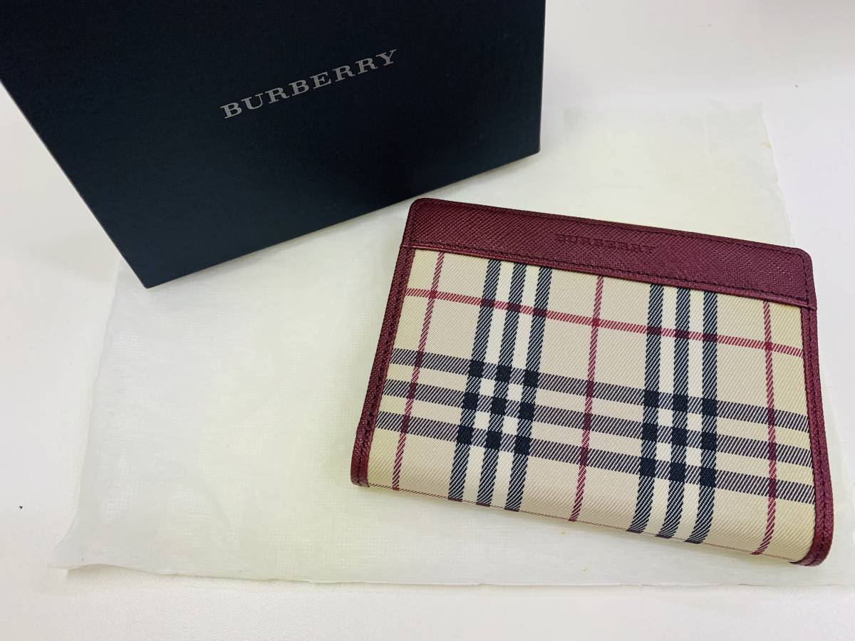 new arrival 2813f d73b2 バーバリー 財布 二つ折りの値段と価格推移は?|114件の売買 ...