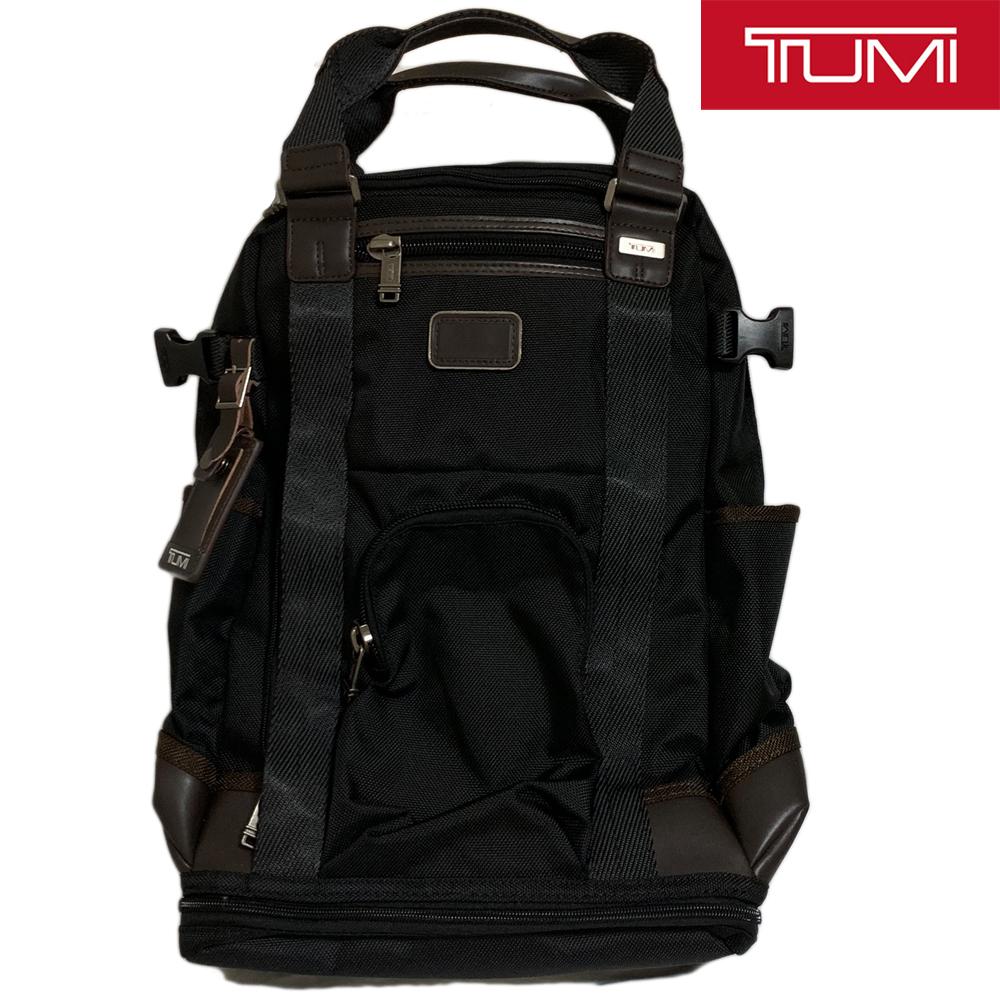 試着程度 TUMI【222380 HK2】アルファ 2WAY バックパック リュック トートバッグ ALPHA BRAVO LEJEUNE BACKPACK 黒 トゥミ