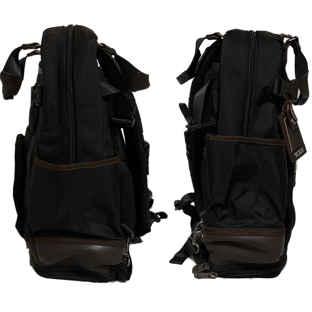 試着程度 TUMI【222380 HK2】アルファ 2WAY バックパック リュック トートバッグ ALPHA BRAVO LEJEUNE BACKPACK 黒 トゥミ_画像3